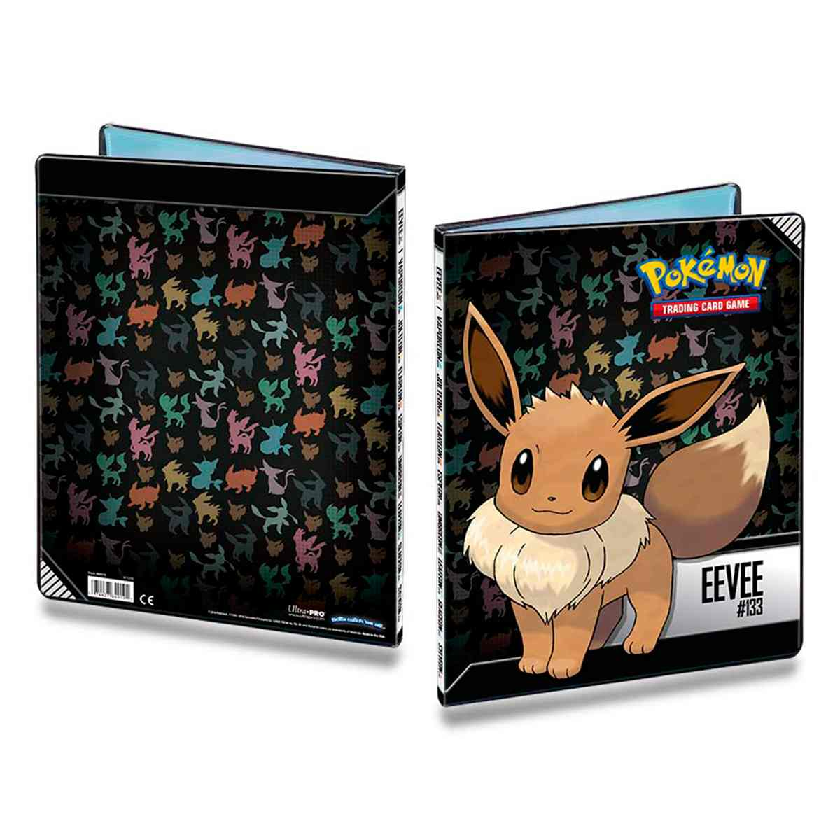 Pokemon Album Eevee Ultra Pro 9 Bolso 10 Folhas