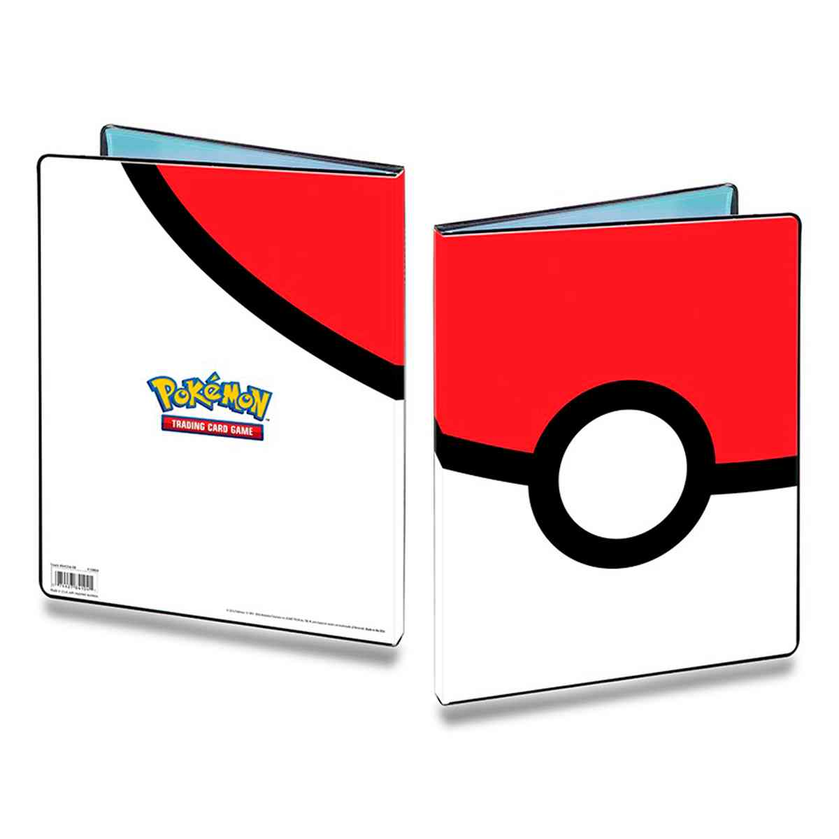 Pokemon Album Pokeball Ultra Pro 9 Bolso 10 Folhas