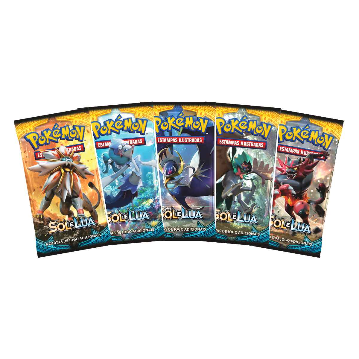 Pokemon Booster Sol e Lua 1
