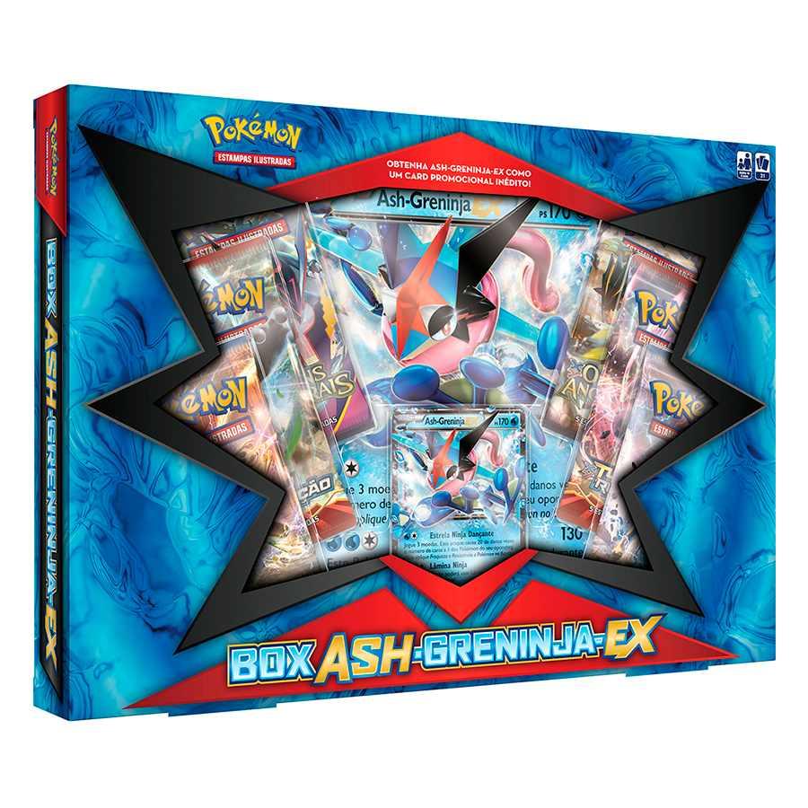 Pokemon Box Ash Greninja Ex