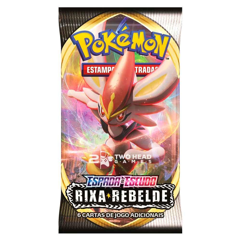 Pokemon Box Booster Espada e Escudo 2 Rixa Rebelde