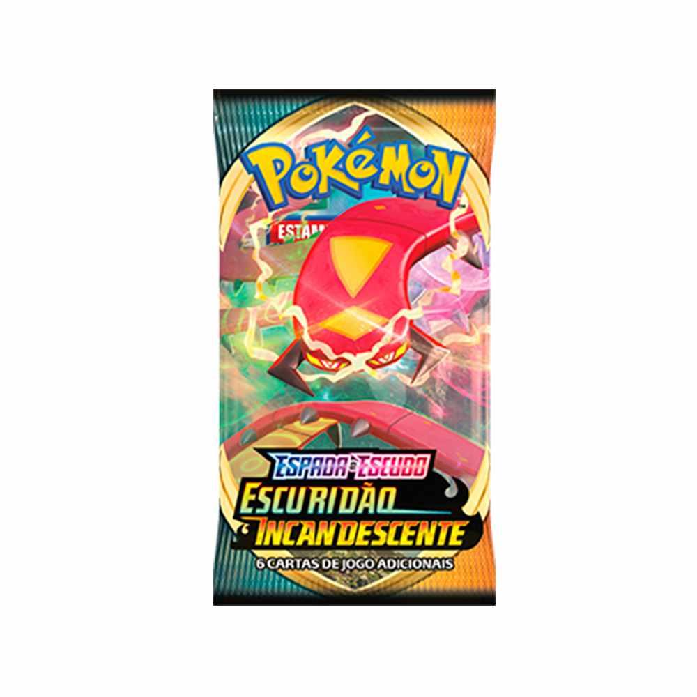 Pokemon Box Booster Espada e Escudo 3 Escuridão Incandescente