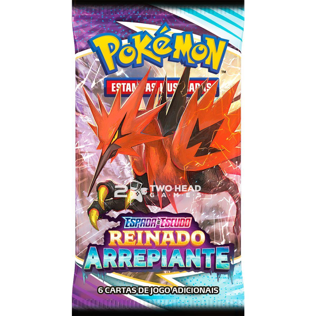 Pokemon Box Booster Espada e Escudo 6 Reinado Arrepiante
