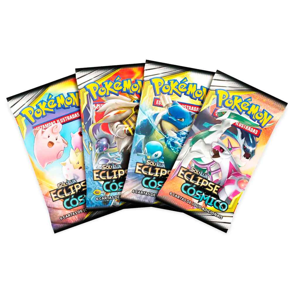 Pokemon Box Booster Sol e Lua 12 Eclipse Cósmico