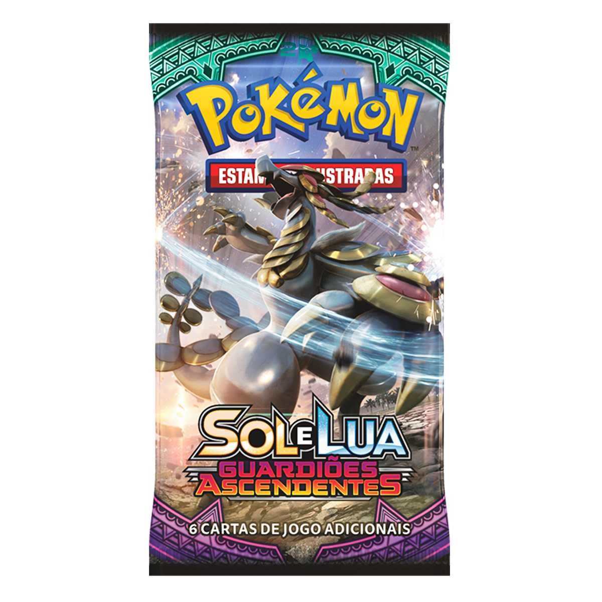 Pokemon Box Booster Sol e Lua 2 Guardiões Ascendentes