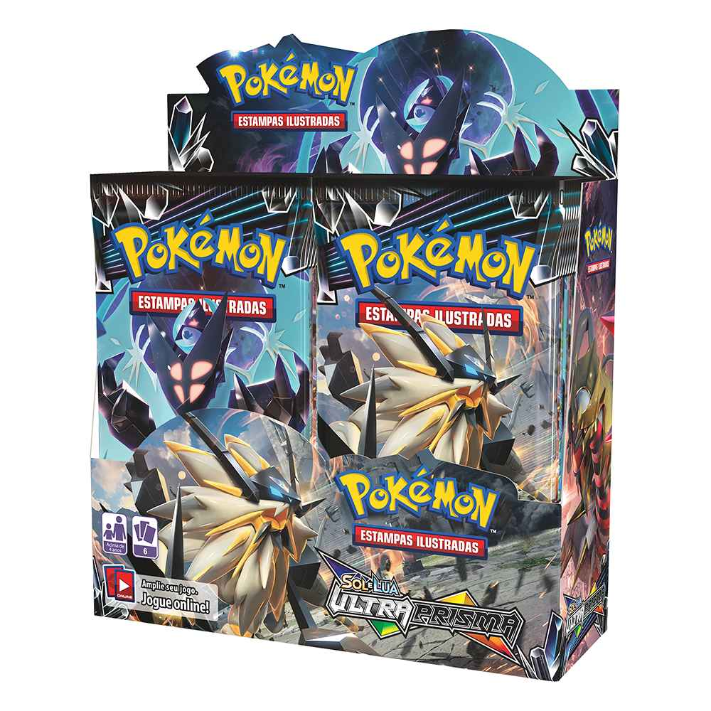 Pokemon Box Booster Sol e Lua 5 Ultra Prisma