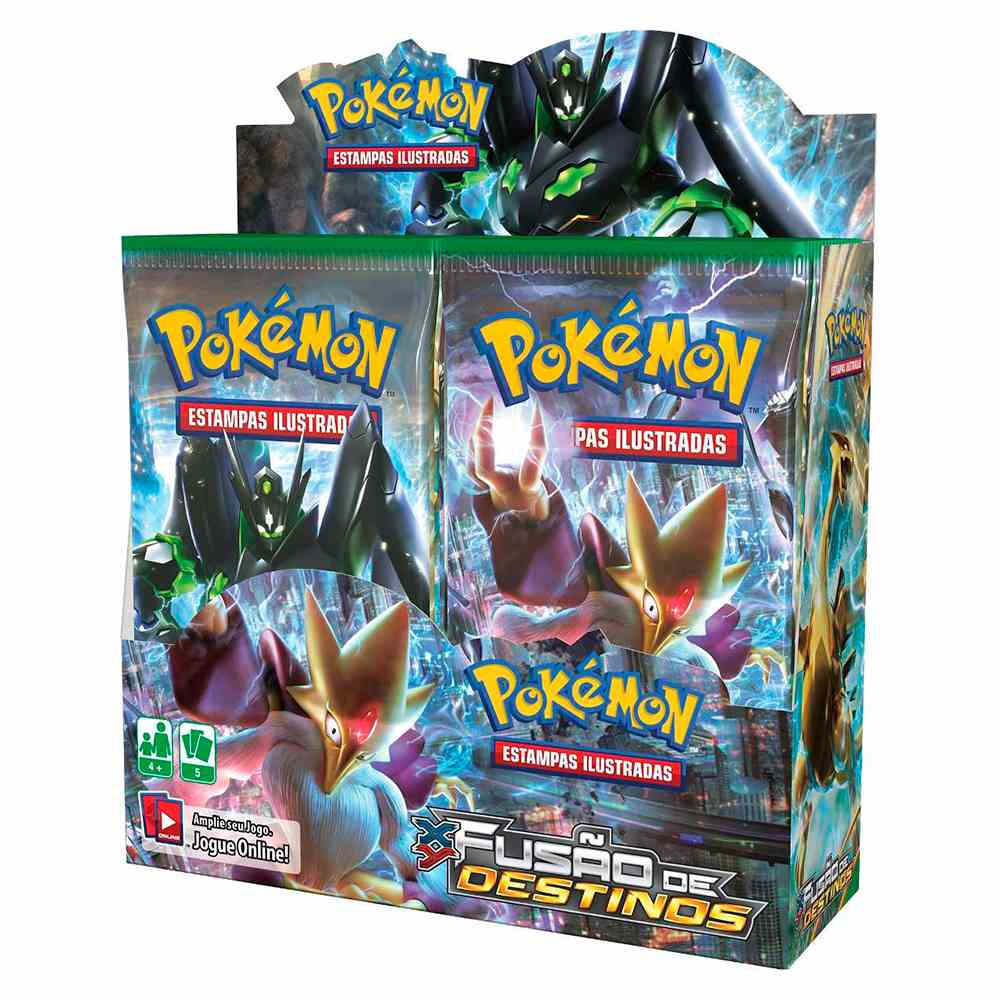 Pokemon Box Booster XY10 Fusão de Destinos