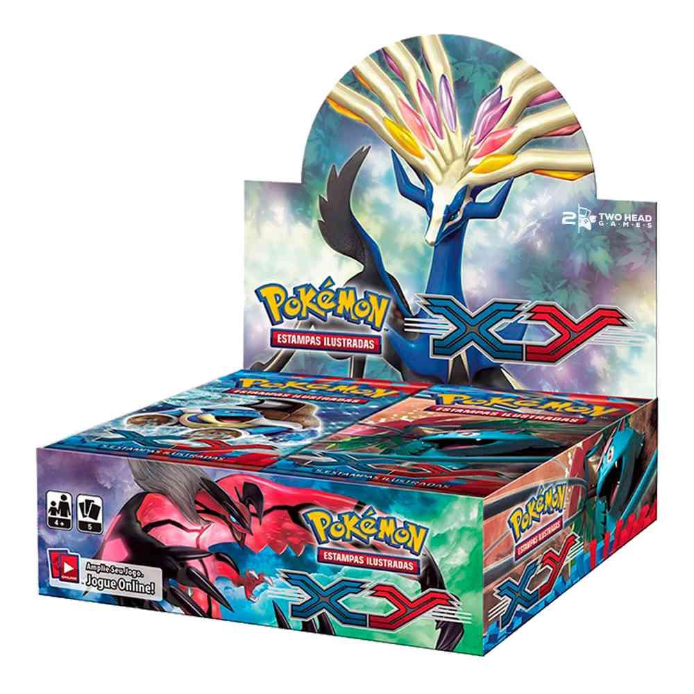 Pokemon Box Booster XY1 Primeira Edição