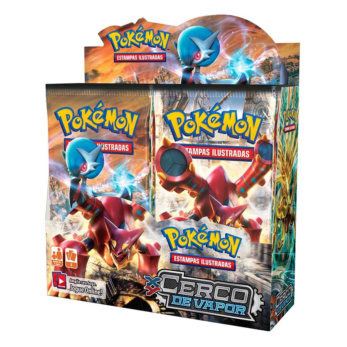 Pokémon Box Booster XY 11 Cerco de Vapor