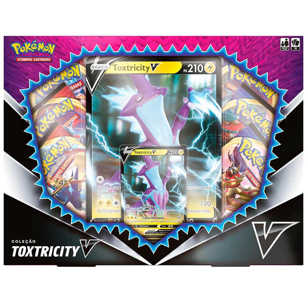 Pokemon Box Coleção Toxtricity V