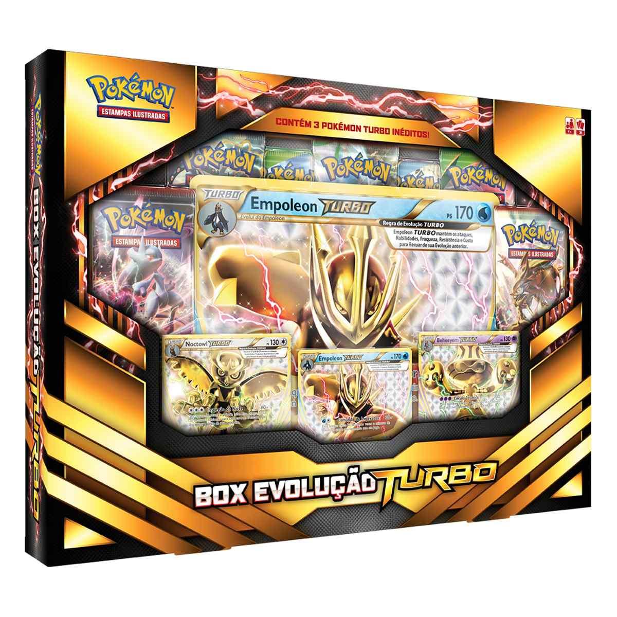 Pokémon Box Evolução Turbo