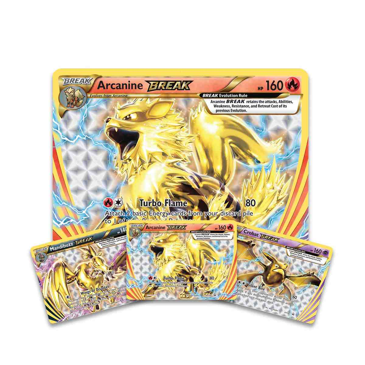 Pokemon Box Evolução Turbo Arcanine Extragrande