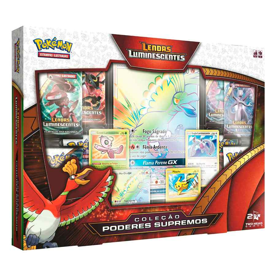 Pokemon Box Lendas Luminescentes Poderes Supremos