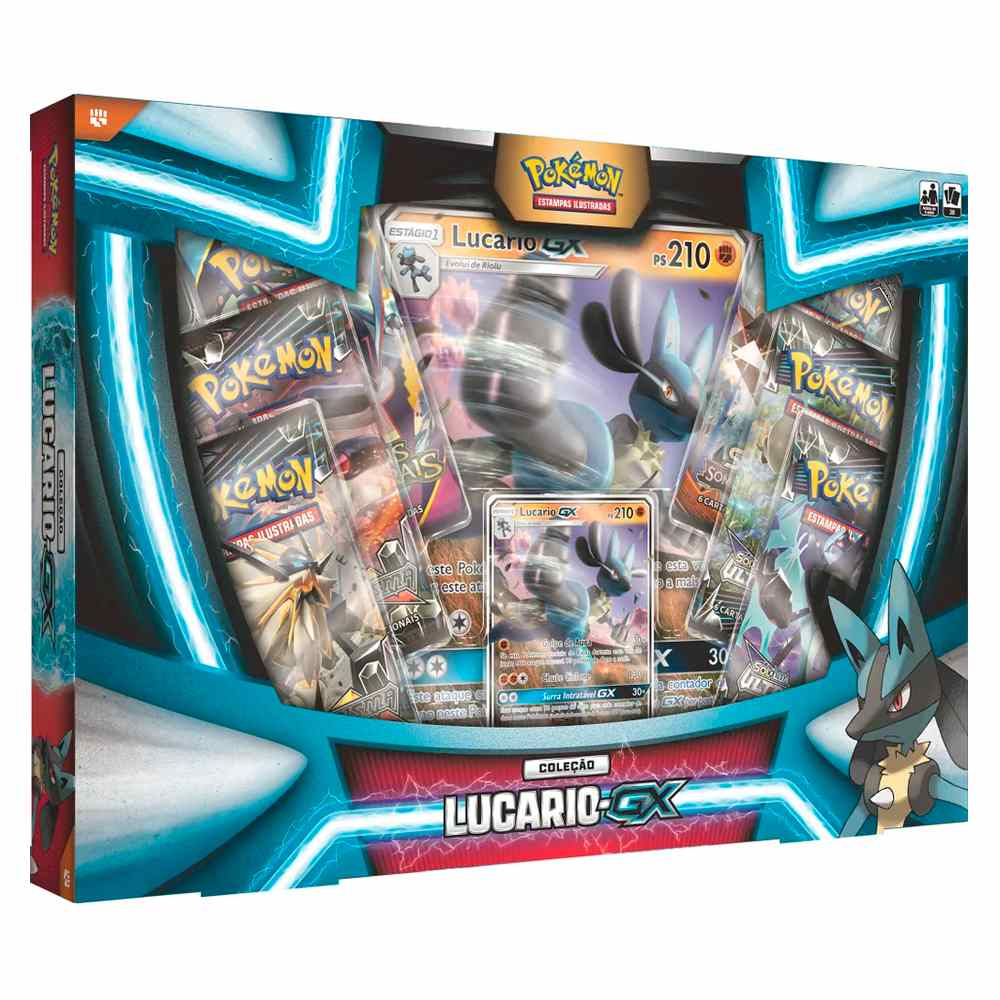 Pokemon Box Lucario Gx Extragrande