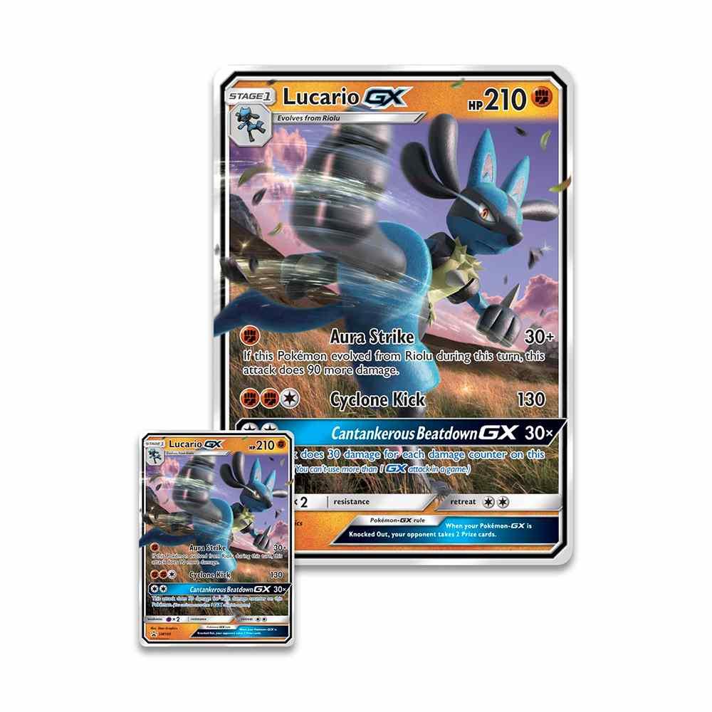 Pokemon Box Lucario Gx Extragrande