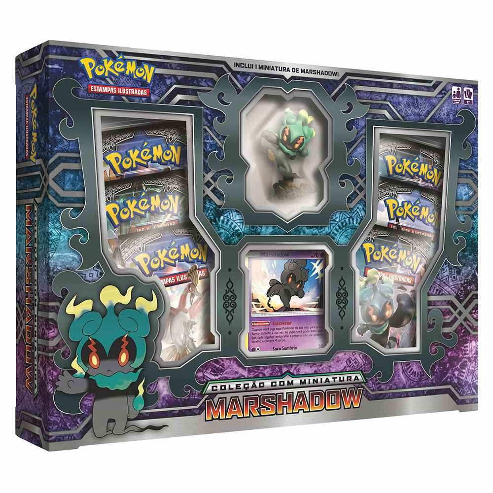 Pokemon Box Marshadow Com Miniatura