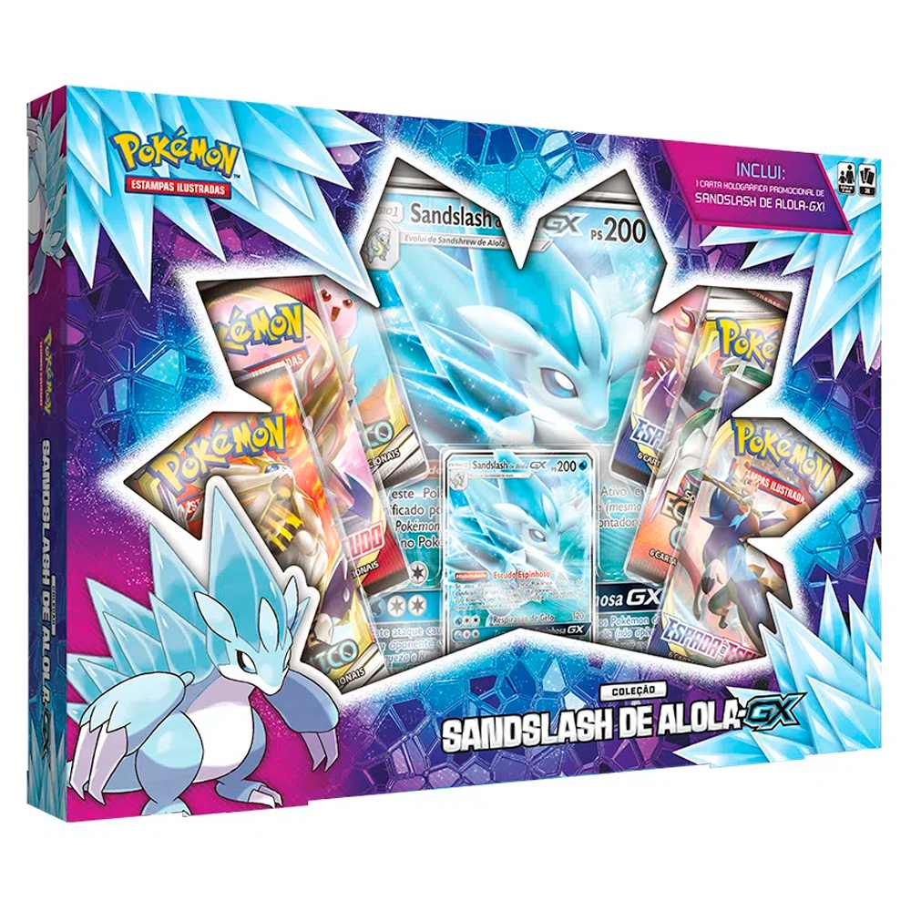 Pokemon Box Sandslash de Alola GX