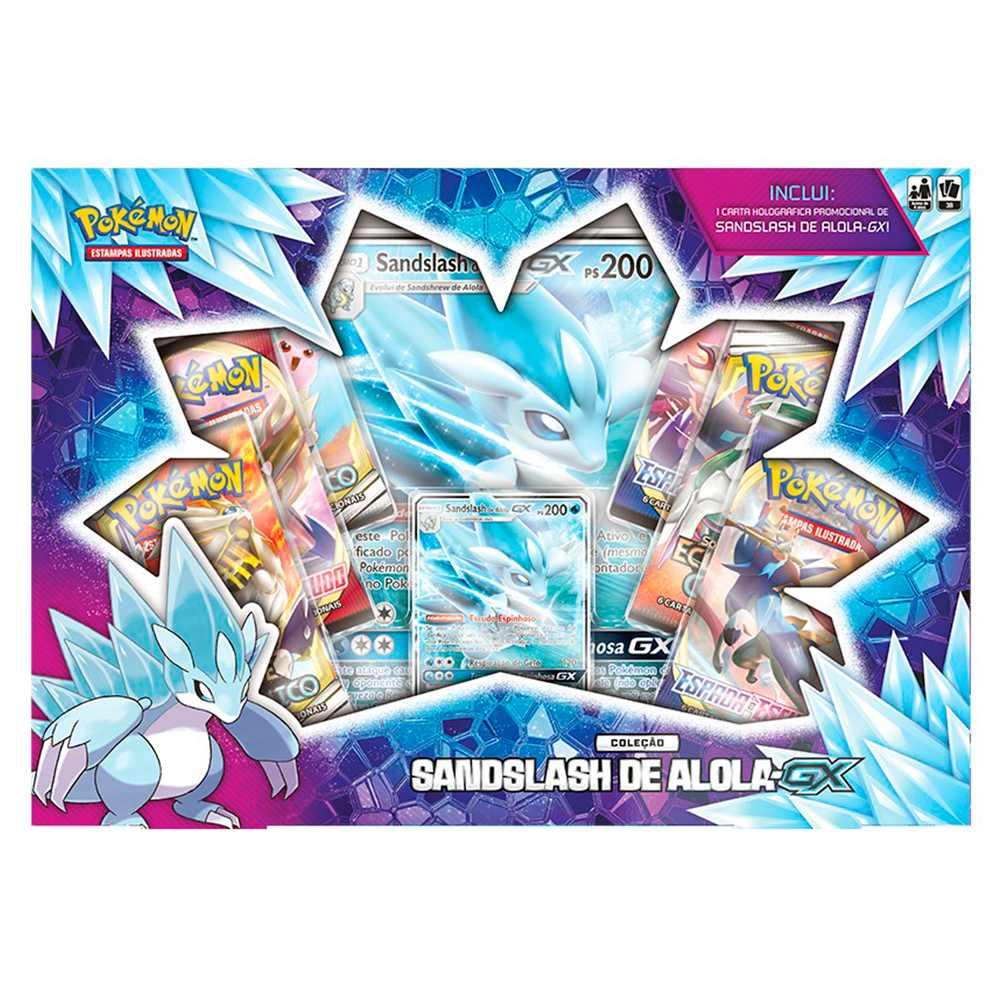 Pokemon Box Sandslash de Alola GX