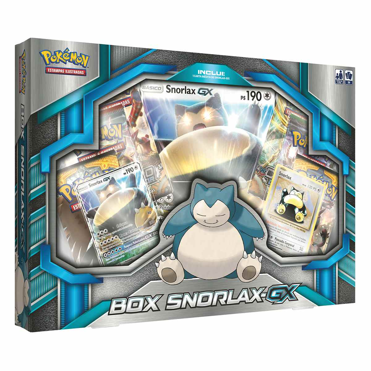 Pokemon Box Snorlax Gx