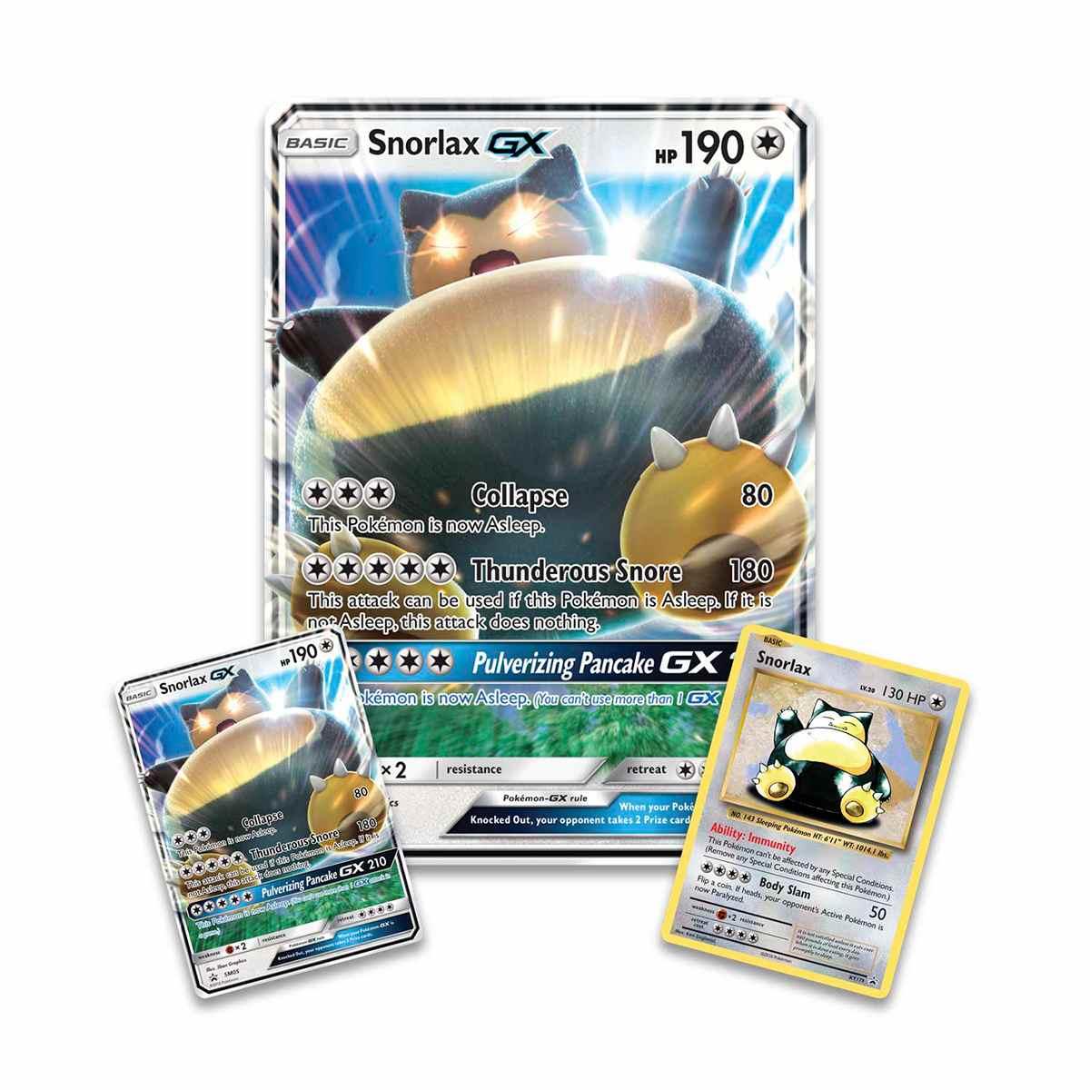 Pokemon Box Snorlax Gx