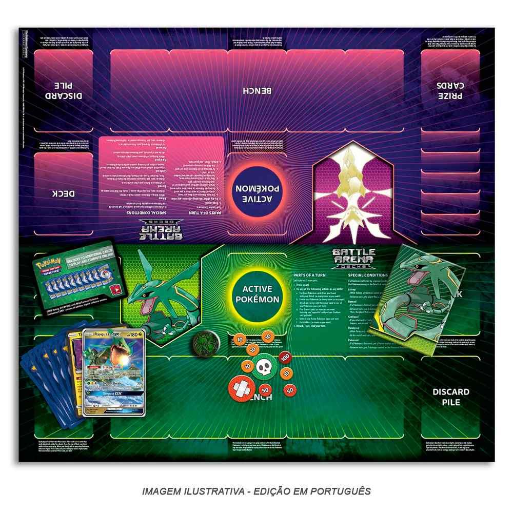 Pokemon Deck Arena de Batalha Rayquaza