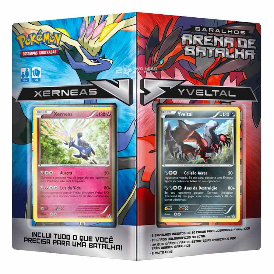 Pokemon Deck Arena de Batalha Xerneas Vs Yveltal