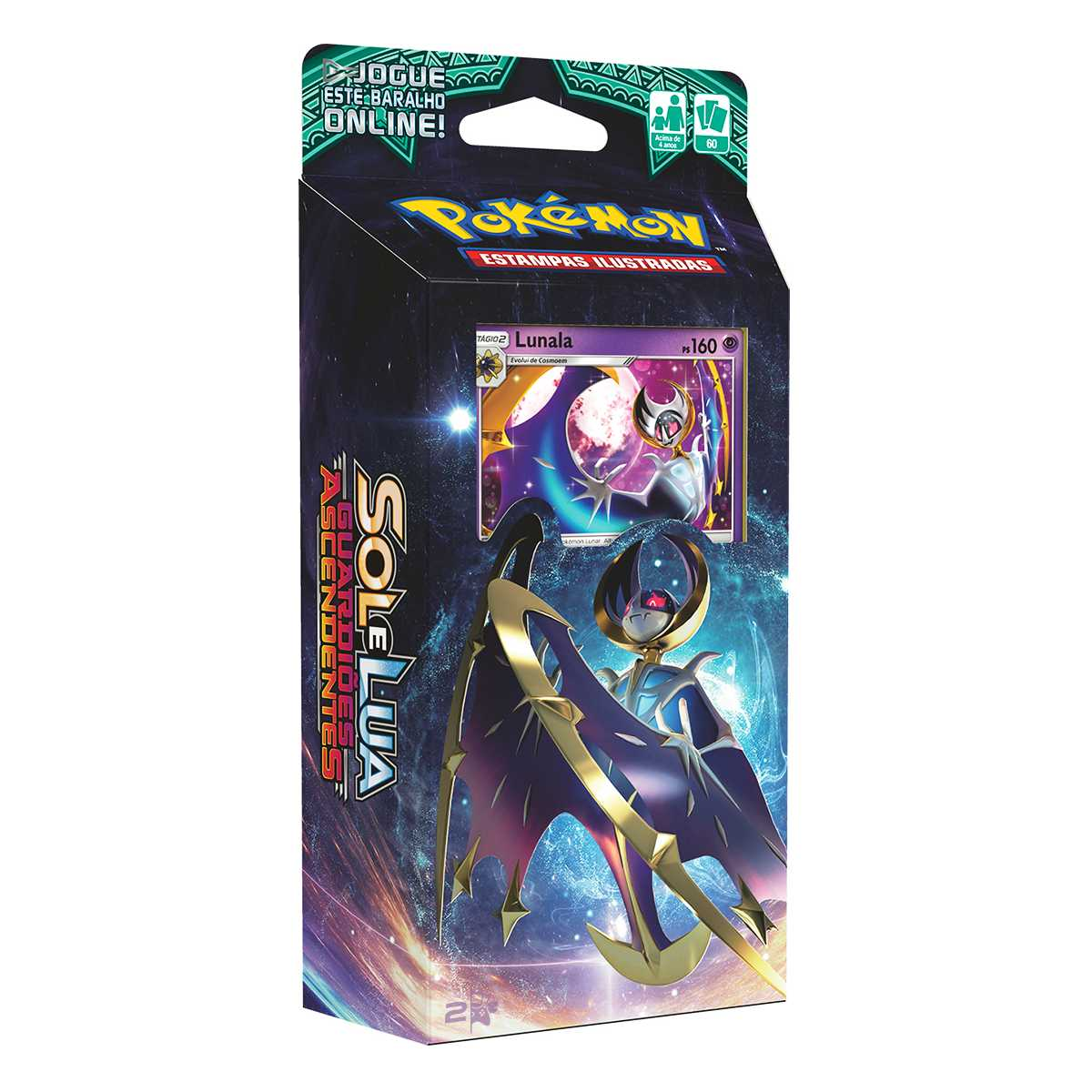 Pokemon Deck Lunala Sol e Lua 2 Guardiões Ascendentes