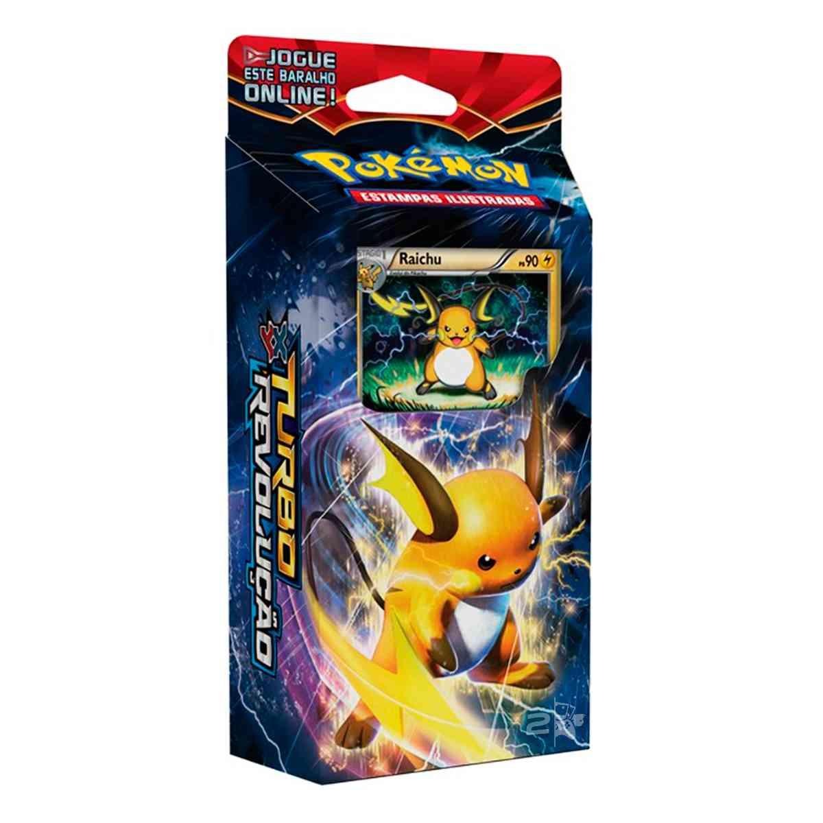 Pokemon Deck Turbo Revolução XY8 Raichu Noivern