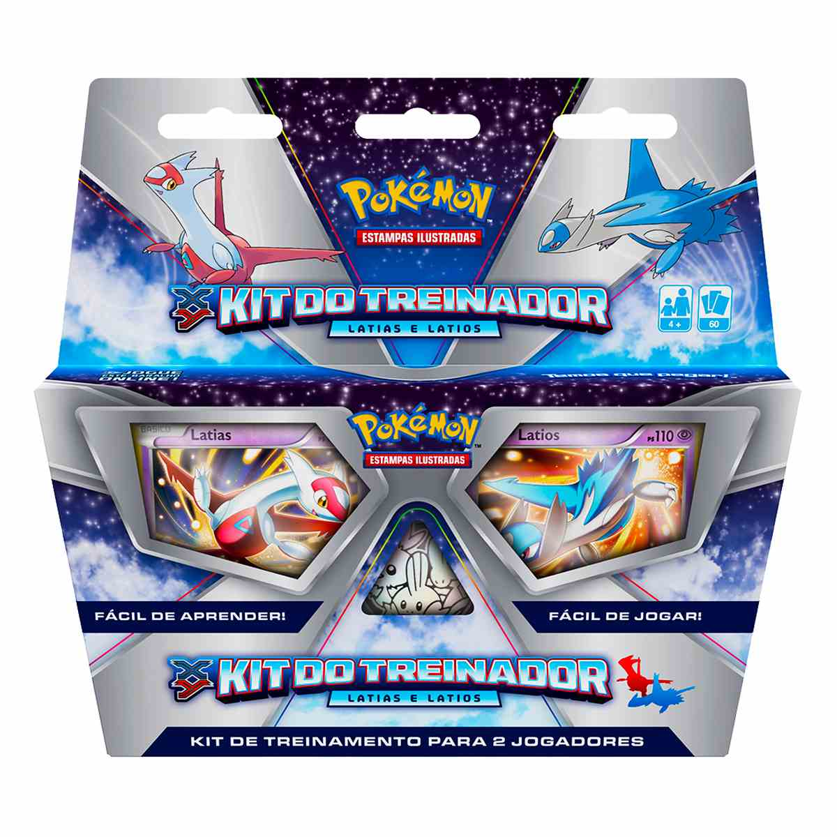 Pokemon Kit do Treinador XY Latias e Latios