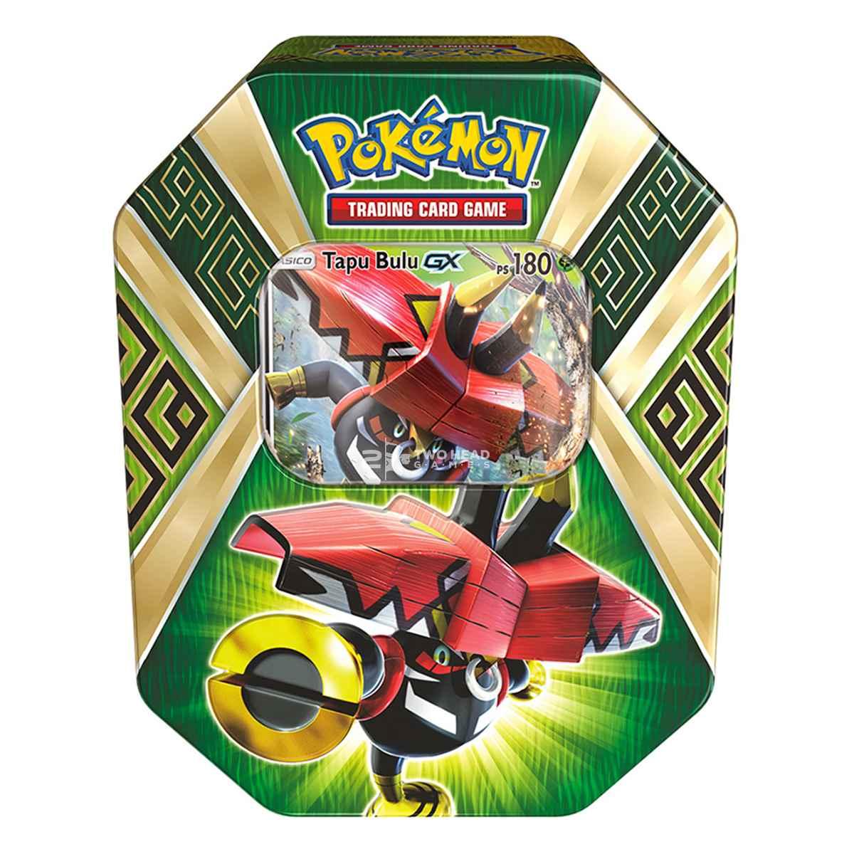 Pokemon Lata Guardiões das Ilhas Tapu Bulu Gx
