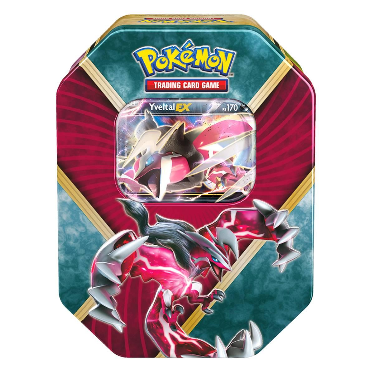 Pokemon Lata XY 11 Kalos Brilhantes Yveltal Ex