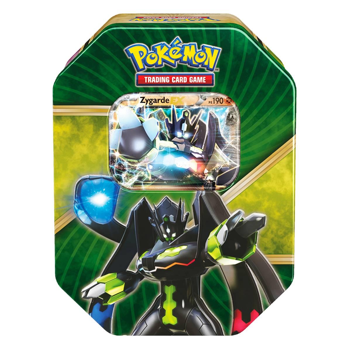 Pokemon Lata XY 11 Kalos Brilhantes Zygarde Ex