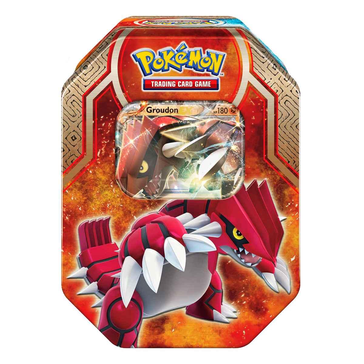 Pokemon Lata XY 5 Conflito Primitivo Groudon Ex