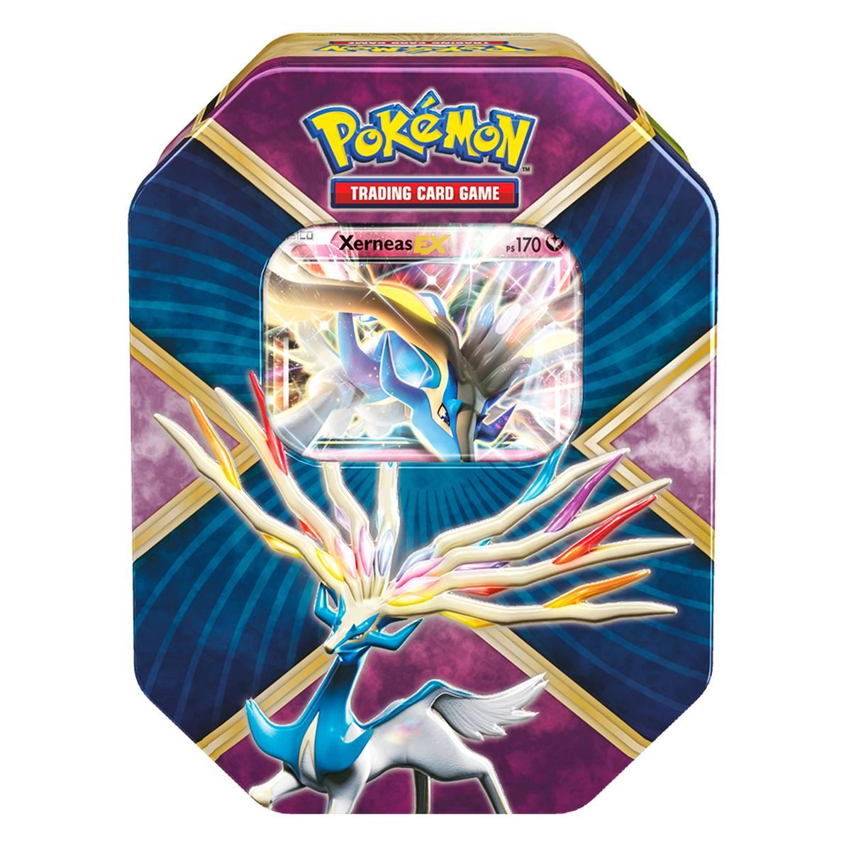 Pokemon Lata XY 11 Kalos Brilhantes Xerneas Ex