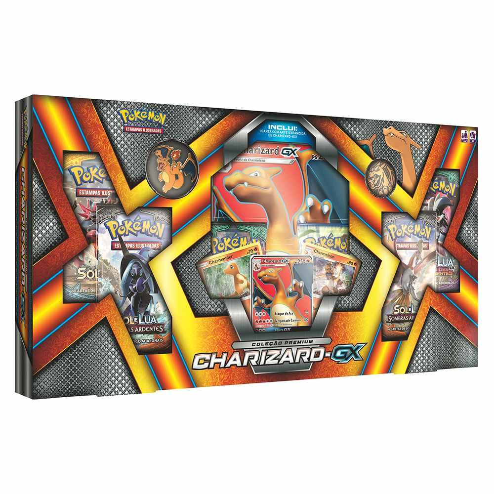 Pokemon Mega Box Charizard Gx Broche