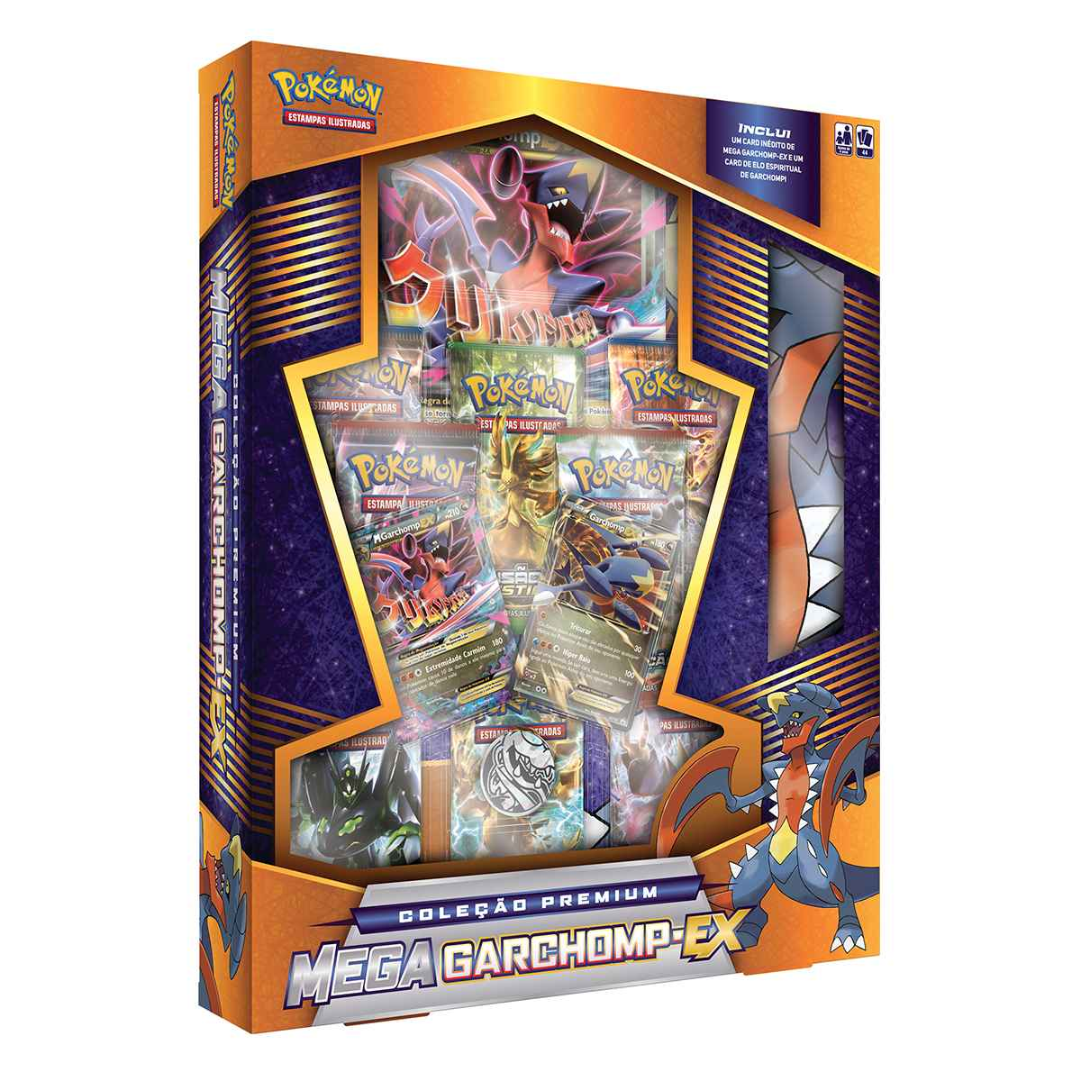 Pokemon Mega  Box Garchomp Ex Premium Collection