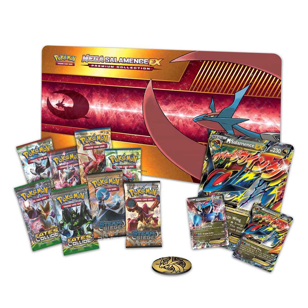 Pokemon Mega  Box Salamence Ex Premium Collection