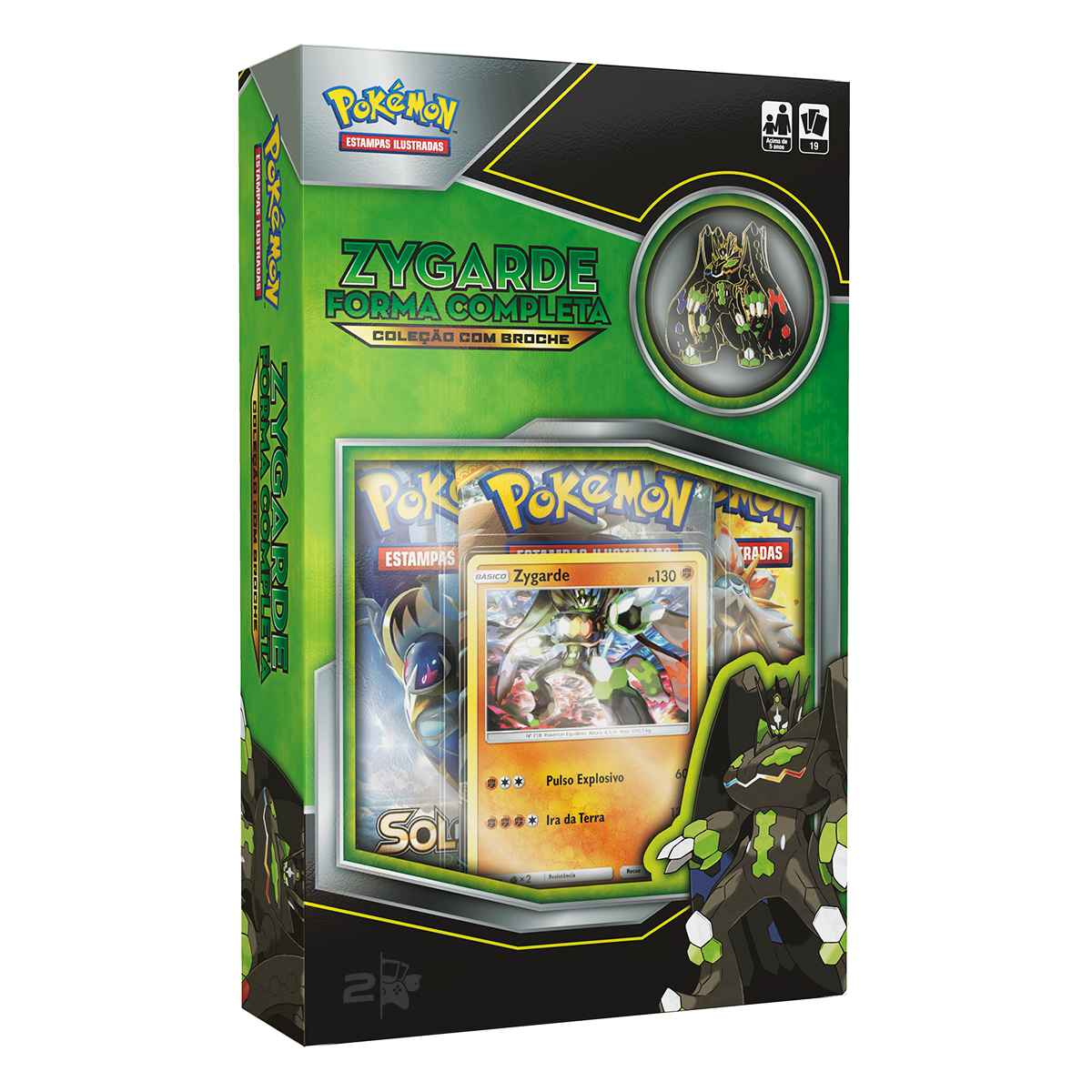 Pokemon Mini Box Zygarde Forma Completa