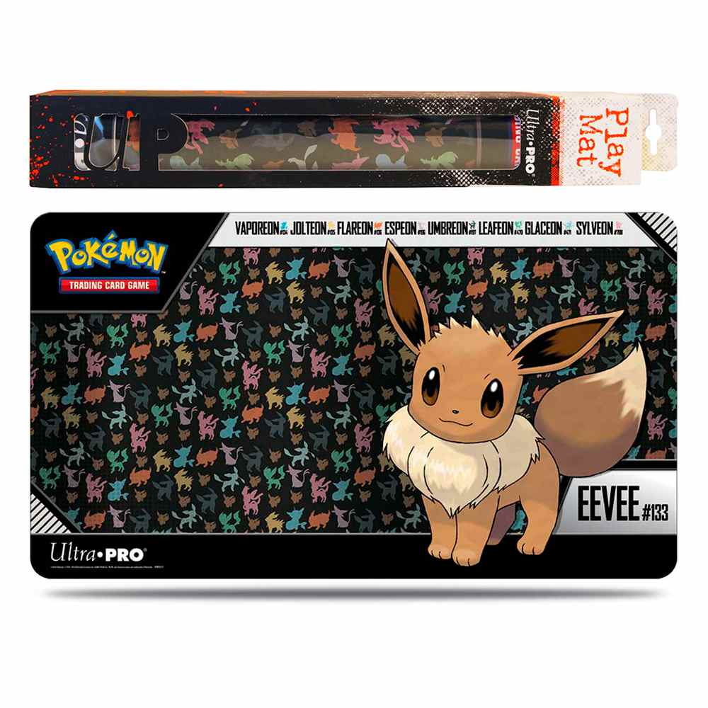 Pokemon Playmat Eevee Emborrachado Ultra Pro
