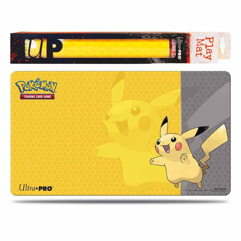 Pokemon Playmat Pikachu Emborrachado Ultra Pro