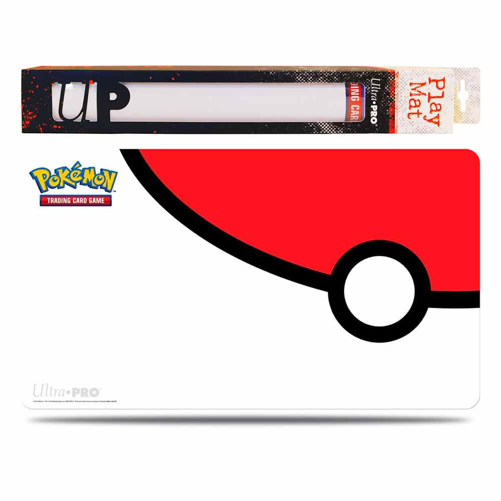 Pokemon Playmat Pokeball Emborrachado Ultra Pro