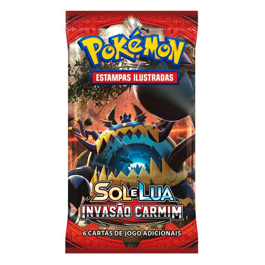 Pokemon Sol e Lua 4 Booster Invasão Carmim