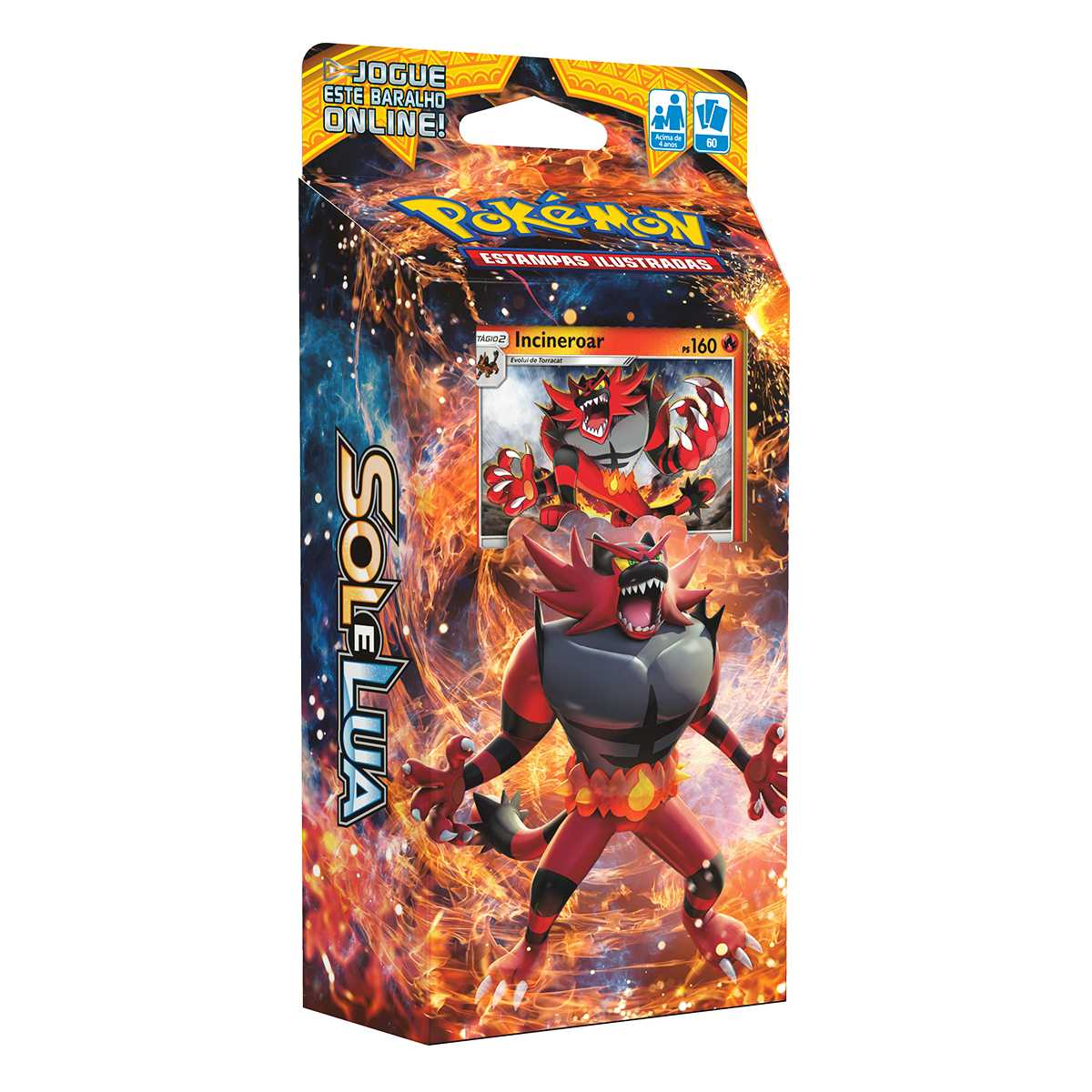 Pokemon Sol e Lua Deck Incineroar GX