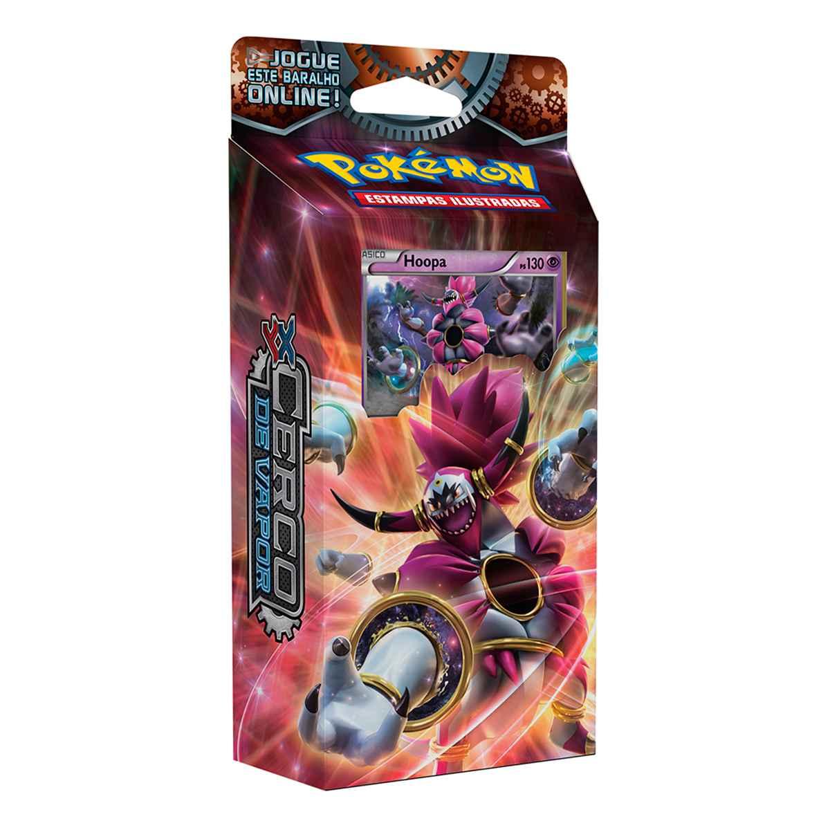 Pokémon Starter Deck Hoopa XY 11 Cerco de Vapor
