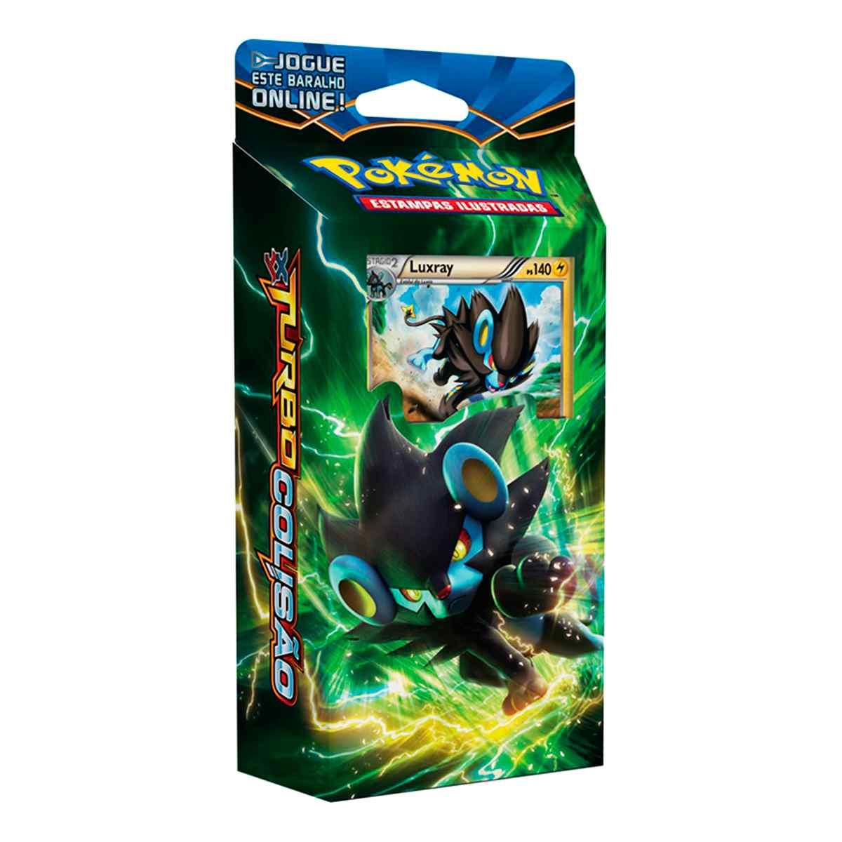 Pokémon Starter Deck Luxray XY 9 Turbo Colisão