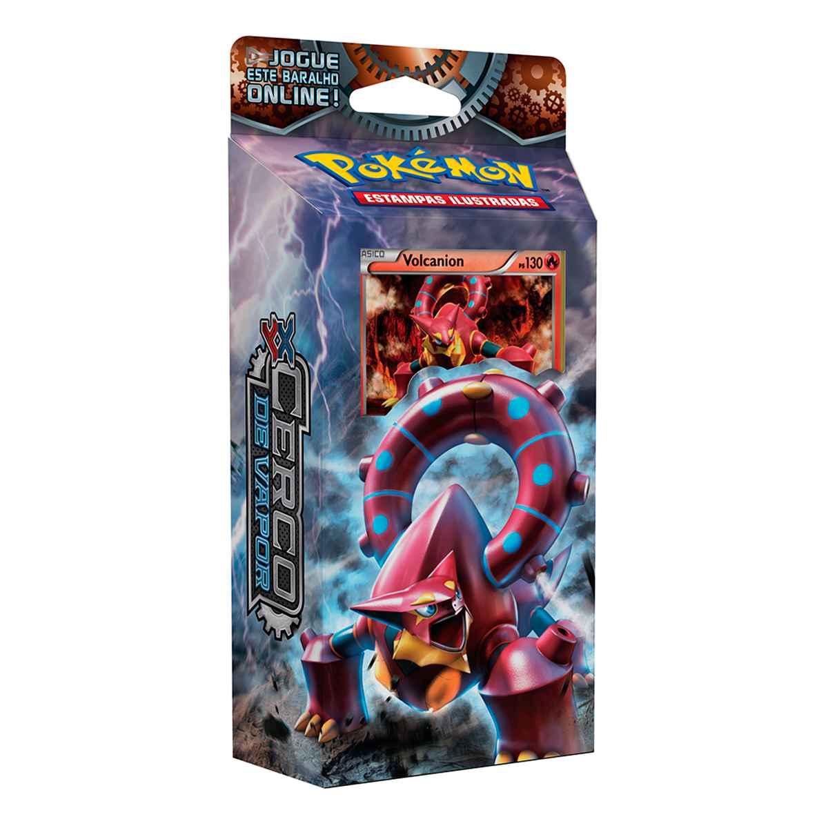 Pokémon Starter Deck Volcanion XY 11 Cerco de Vapor