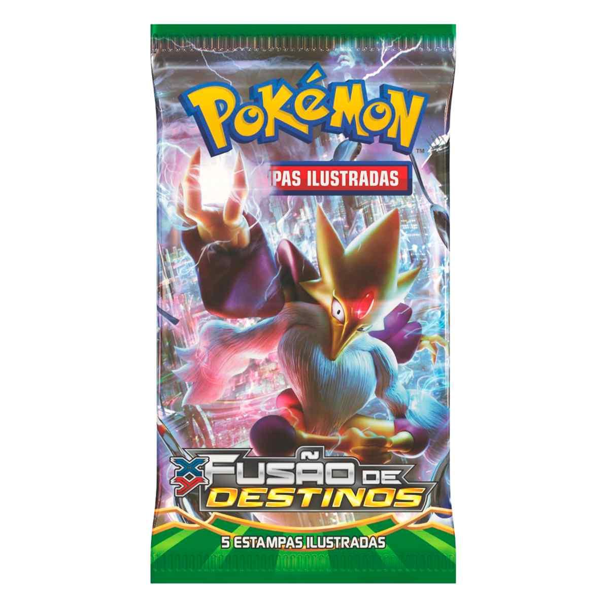 Pokémon Triple Pack Froakie XY 10 Fusão de Destinos