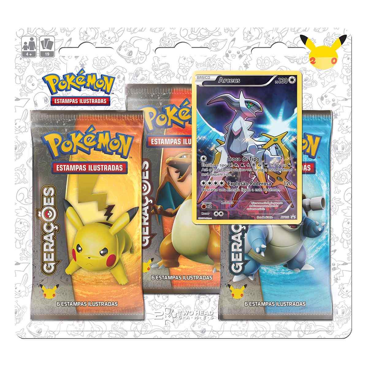Pokémon Triple Pack Gerações - Arceus