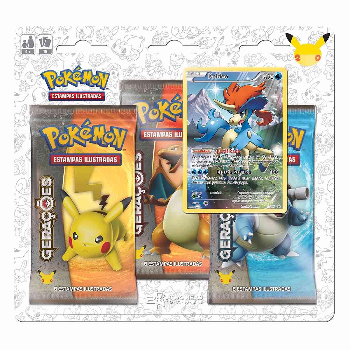 Pokémon Triple Pack Gerações - Keldeo