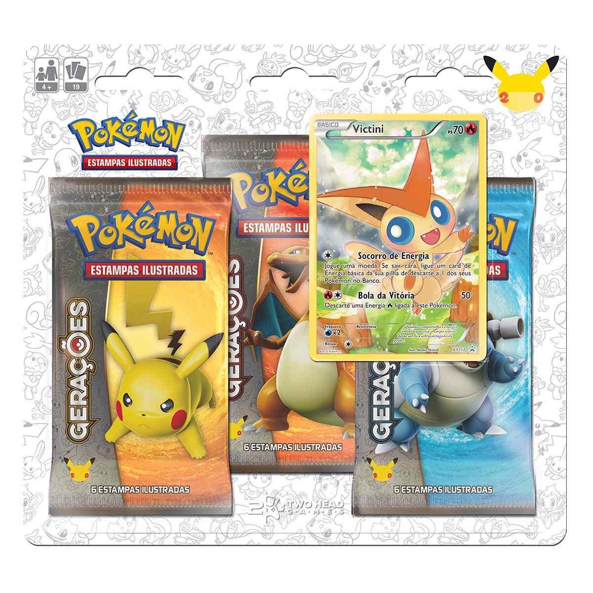 Pokémon Triple Pack Gerações - Victini